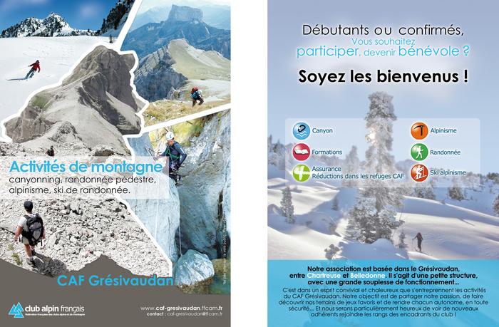 Site internet : caf-gresivaudan.ffcam.fr